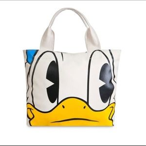 Disney D/Style Donald Duck Face & Feet Tote Bag